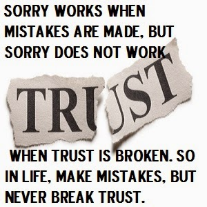 Trust, Life quotes, mistakes,