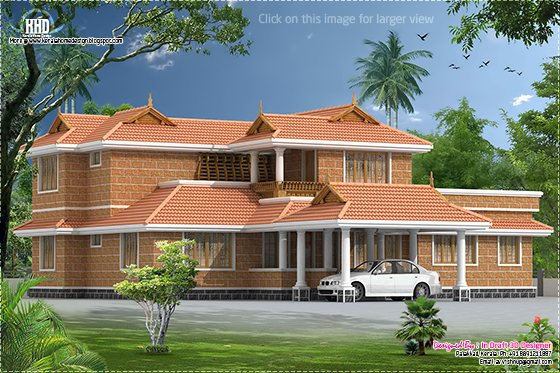 Kerala traditional villa