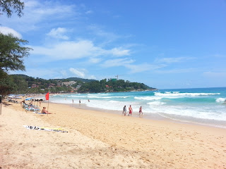 Kata Beach Phuket - red flags are on