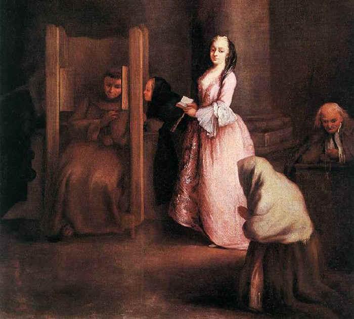 le sacrement de la pénitence et de la réconciliation dans images sacrée confession
