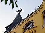 Ρίγα, Λεττονία: Η γάτα-γλυπτό στη στέγη - Μνημείο μιας ιστορίας εκδίκησης (Αγγλ.)