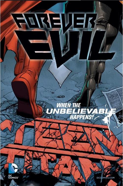 Forever Evil Teaser Kicked in Forever Evil so