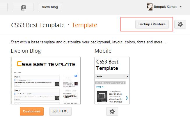 upload xml template file on blogger stramaxon. Black Bedroom Furniture Sets. Home Design Ideas