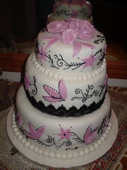 Gill's Wedding Cake
