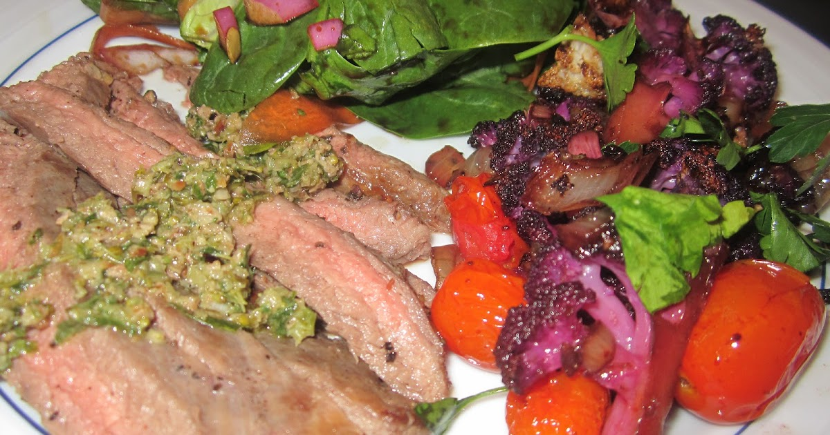 ... Weight Loss - Optimal Nutrition: BALSAMIC CAULIFLOWER & FLANK STEAK