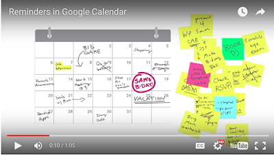 how to add reminders in google email