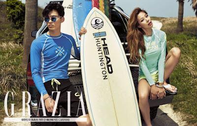 Jessi - Grazia Magazine May Issue 2015