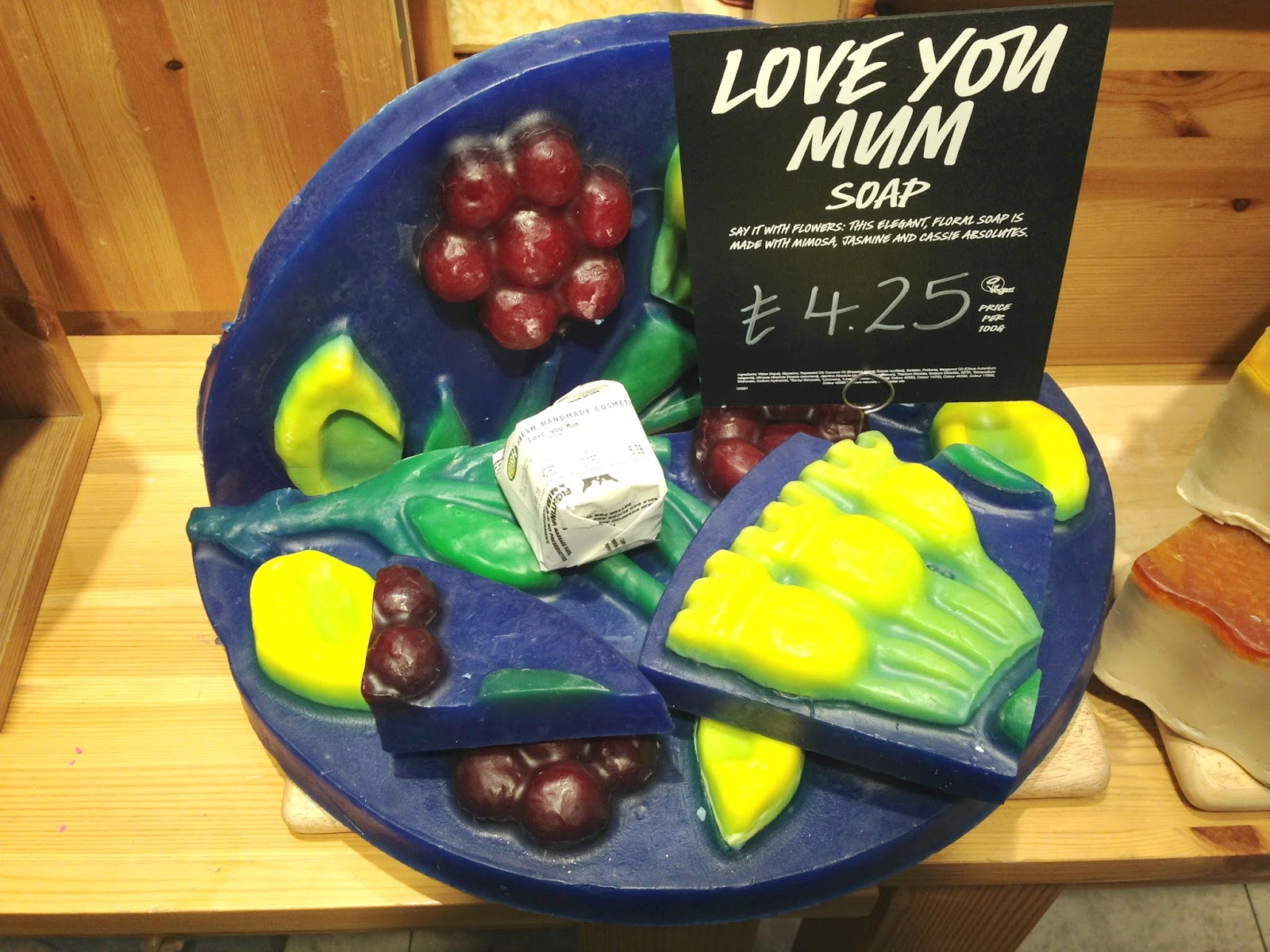 Love You Mum Soap Mother's Day