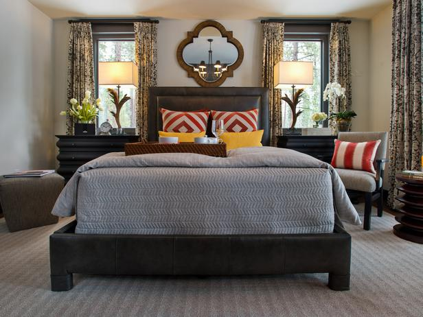for master bedroom ideas hgtv if you have a good floor plan to your bedroom you