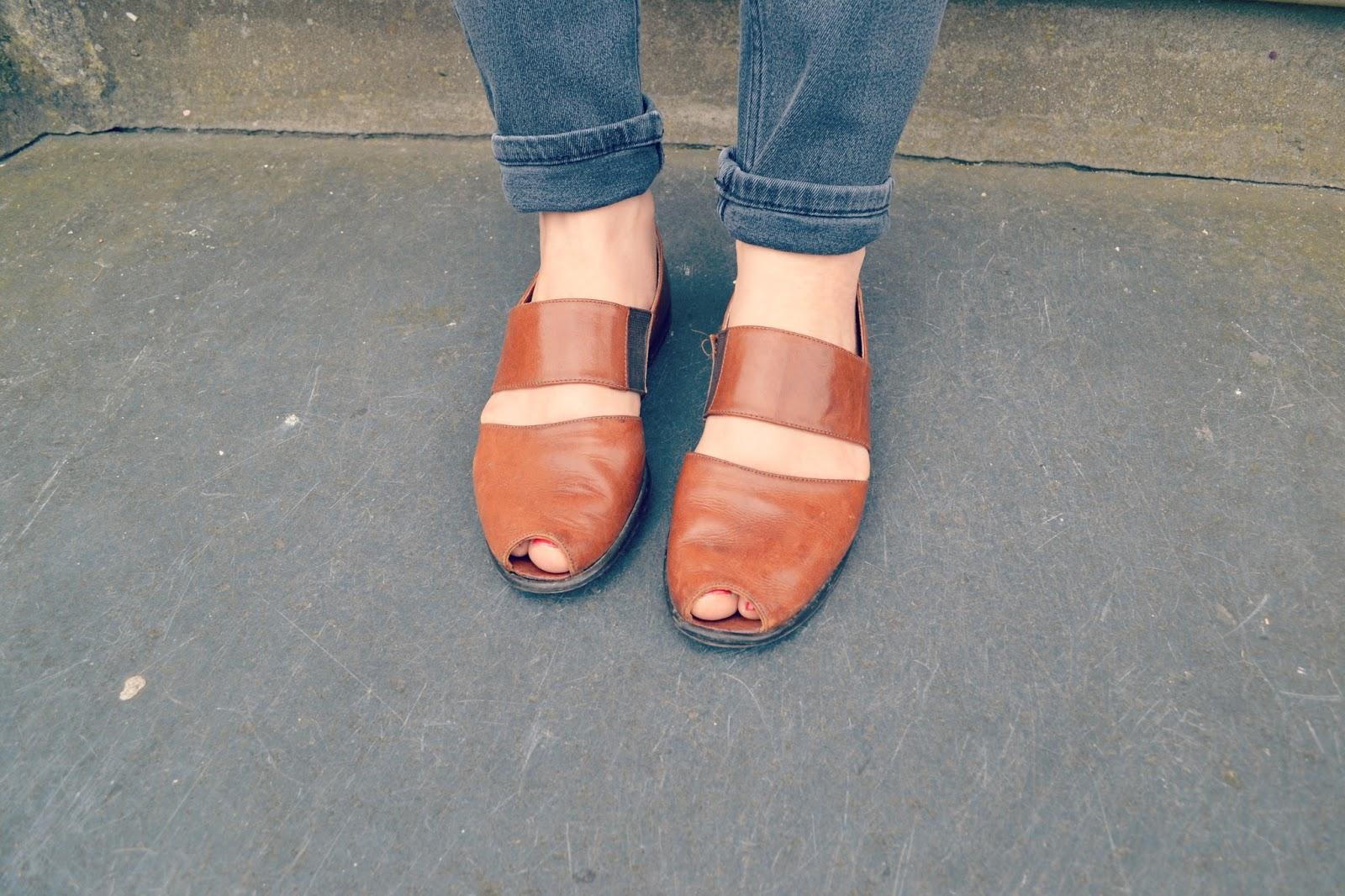 vintage shoes vintage jeans