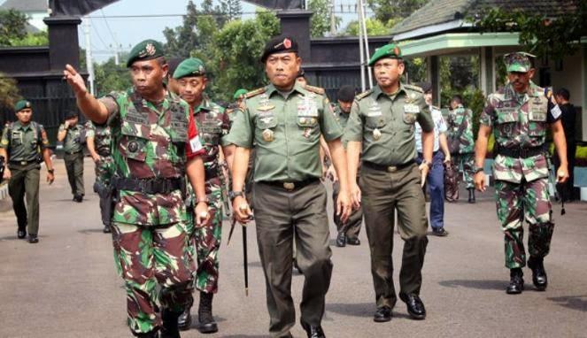 Diduga Teroris Mantan Kopasuss TNI AD Ditembak Mati Densus 88