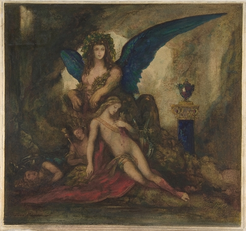 gustave moreau sphinx