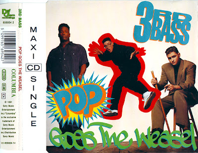 3rd Bass – Pop Goes The Weasel (CDS) (1991) (320 kbps)