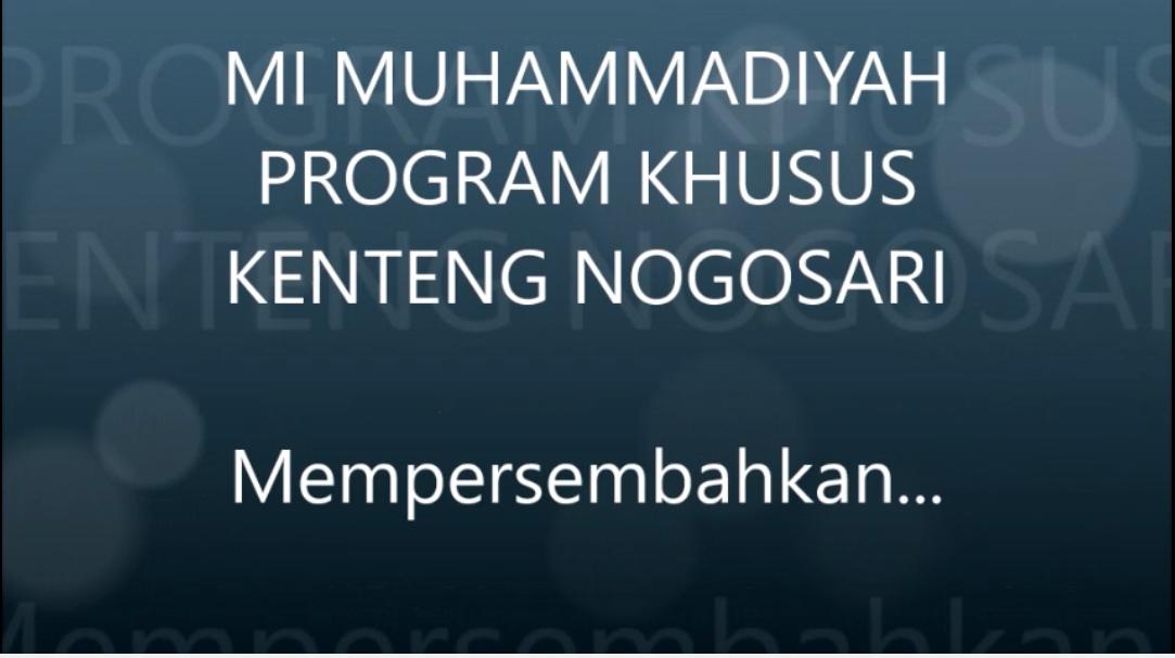 Dokumentasi kelas 1 MIM PK Kenteng