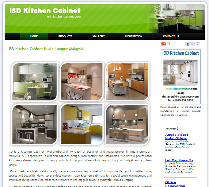 Malaysia Kitchen Cabinet Manufacturer: Home Interior Design Kuala Lumpur Malaysia: New Website