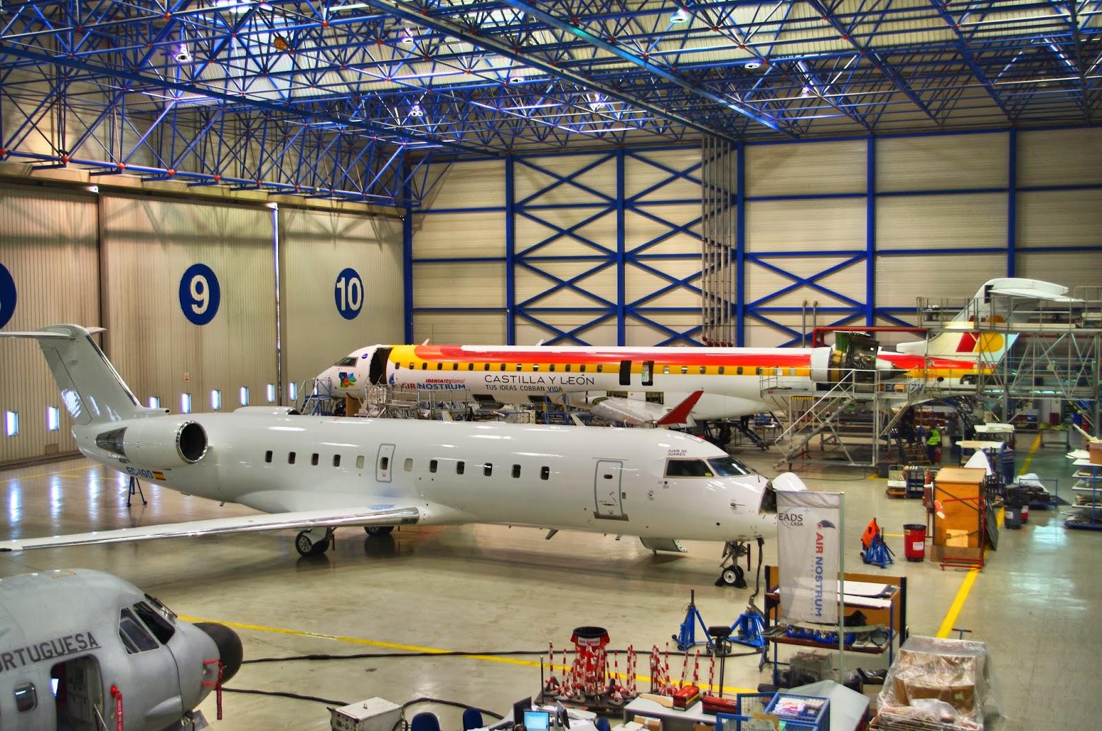 Hangar Air Nostrum