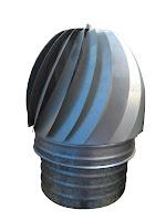 instalación de una chimenea o estufa de leña, sombrerete_extractor
