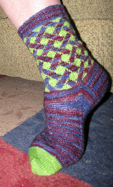 Pride and Prejudice Sock Pattern