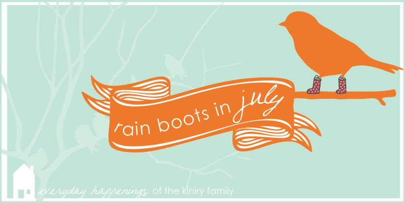 Rainboots in July