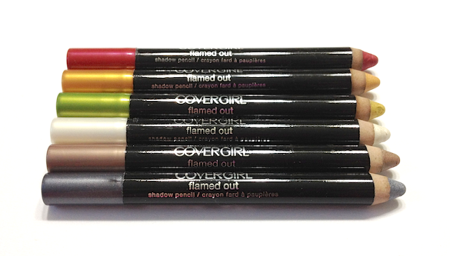 Cover Girl Flamed Out Pencils