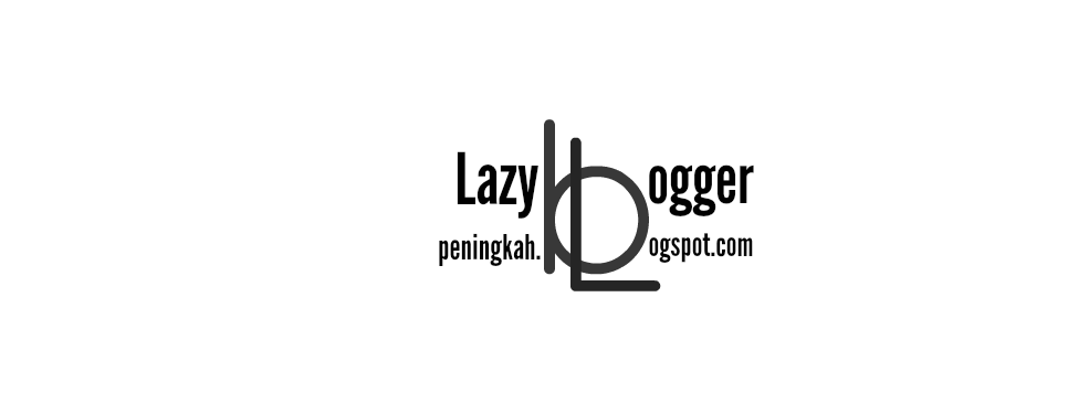A Lazy Blogger