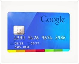 kartu kredit google