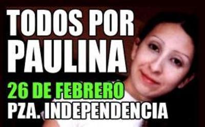 Marcha por Paulina el 26 de Febrero