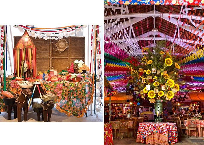 decoracao festa xadrez:para dar charme, use flores, de vários tamanhos e várias cores.