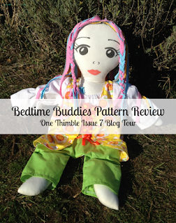 Bedtime Buddies Pattern Review for the One Thimble Issue 7 Blog Hop