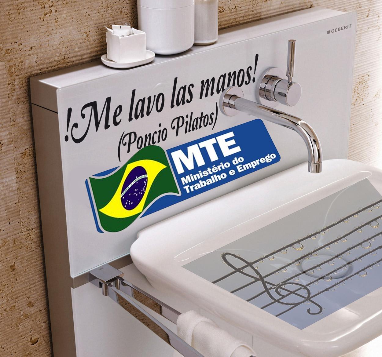 MINISTÉRIO DO TRABALHO DESOBRIGA A NOTA CONTRATUAL