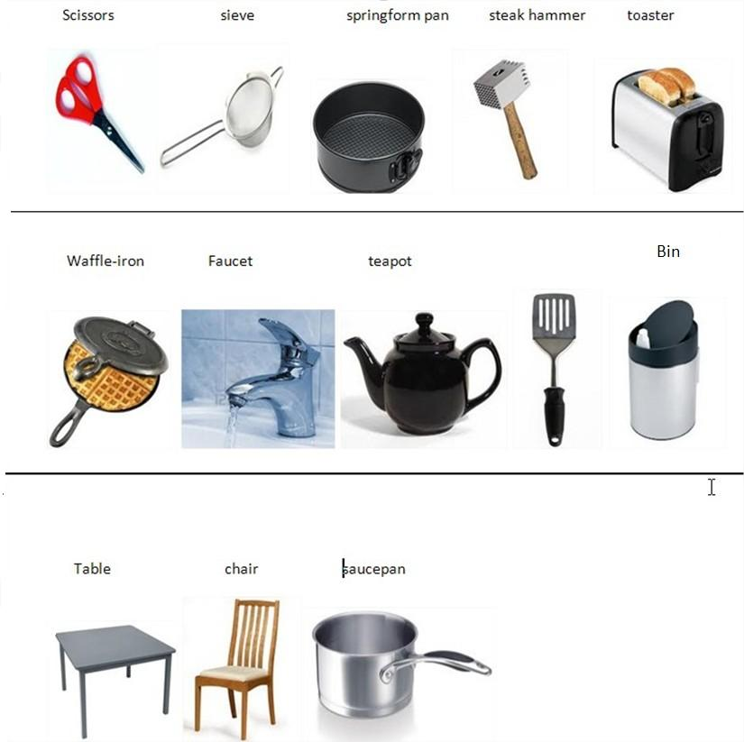 Learn ENGLISH With Pleasure Kitchen Vocabulary