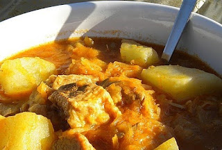 goulash con patate