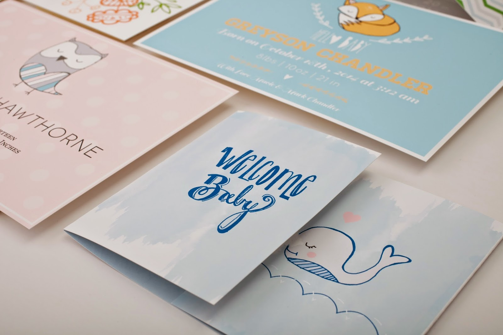Baby shower, Birth announcements, First Birthday Invites
