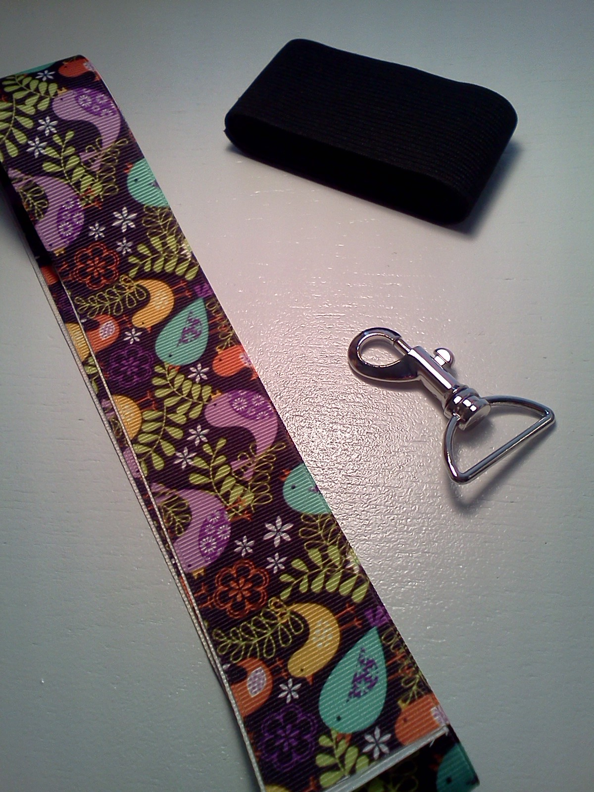 Paper Poppies Amp Paisleys Free Lanyard Pattern With Cell