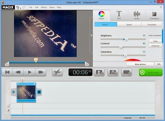 تحميل برنامج MAGIX Video easy HD لتحرير وتعديل الفيديو