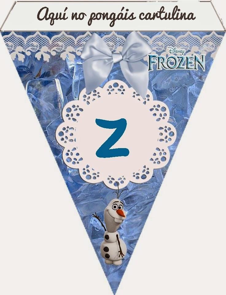 diy guirnalda personalizada cumpleaños frozen disney blog niños mama de noa