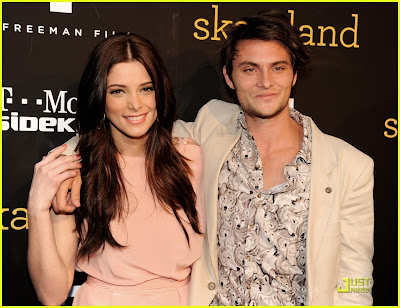 Ashley Greene with Shiloh Fernandez in Skateland' Premiere