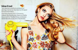 Amanda Seyfried Cover Shoot, Glamour Magazine Cover Shoot
