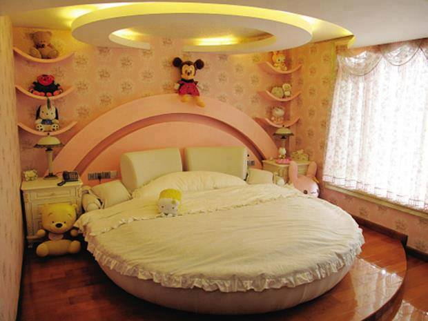 Dise o de interiores peru dise o de dormitorios - Dormitorios infantiles nina ...