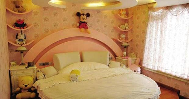 Dise o de dormitorios infantiles para ni as decoraci n - Diseno dormitorios infantiles ...