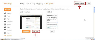 Replace Older Newer Text Link Image Blogspot 1