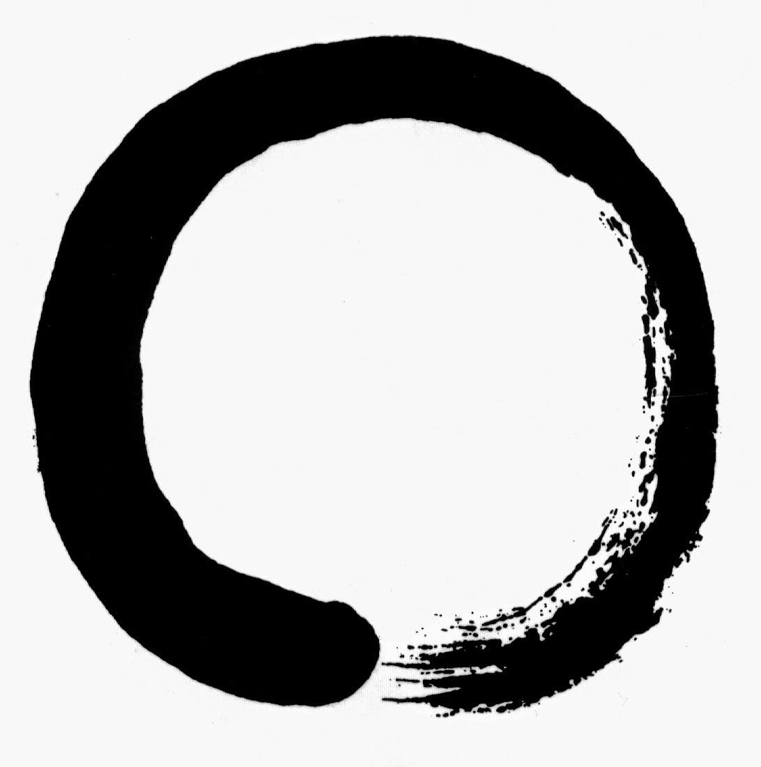 Claro y vacío zen