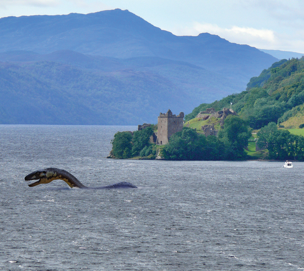 a history of the loch ness myth Reported sightings of the loch ness monster go back to the dark ages, but now our super natural history team is using the 21st-century technology of environmental dna to survey all life in the.