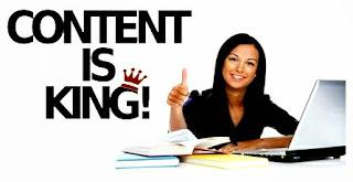 konten blog, jaminan utama dan terbesar