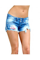 Pantaloni Scurti EVELIN Denim Escape Star Jeans (Escape Star Jeans)