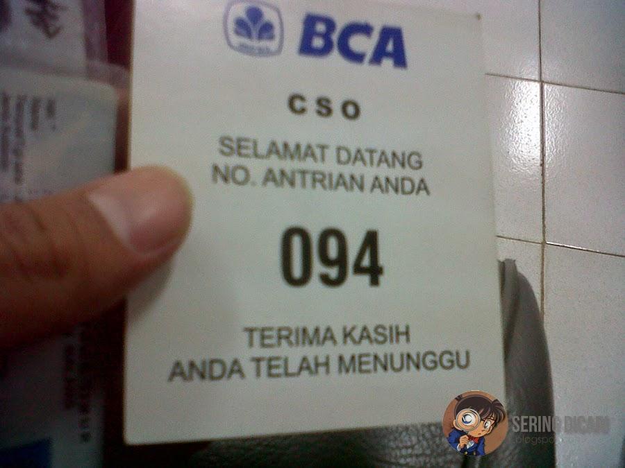 membuat rekening BCA