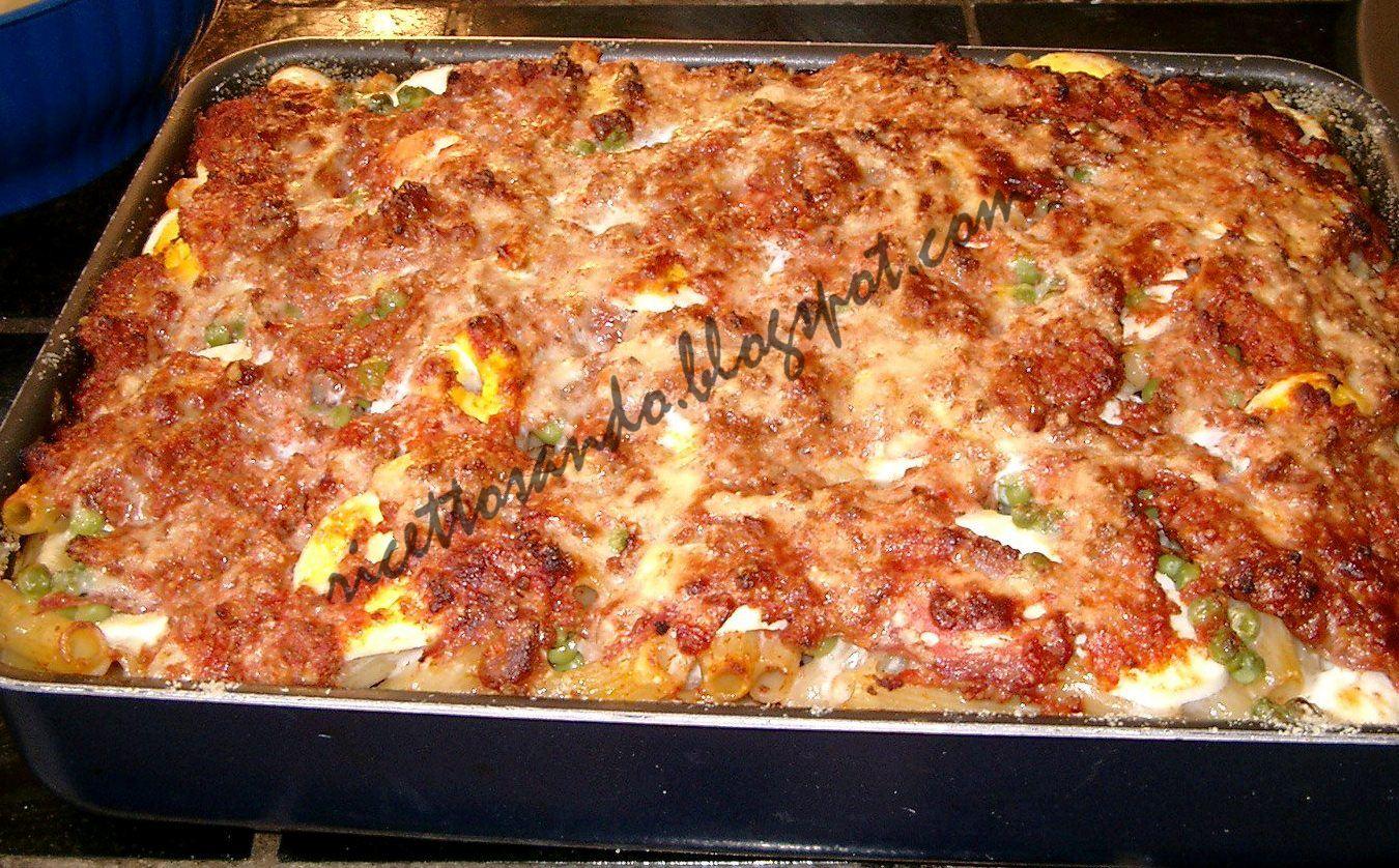 Ricetta pasta a forno siciliana