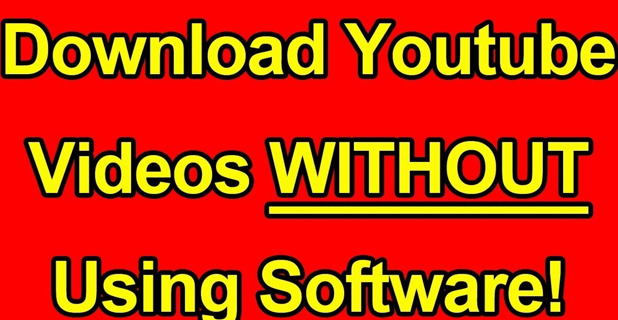how to download youtube without app