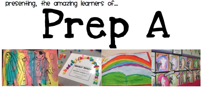 Prep A Class Blog!
