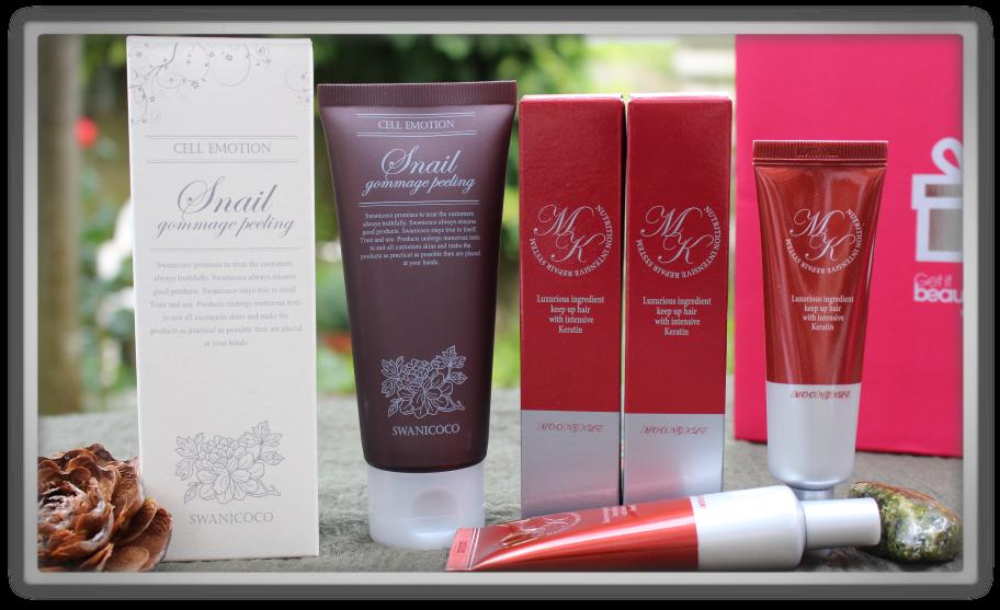 겟잇뷰티박스 by 미미박스 memebox from nature beautybox # unboxing review preview box unboxing Sn - t goddes cream 32